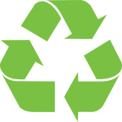 Ikke glem at vi resirkulerer!